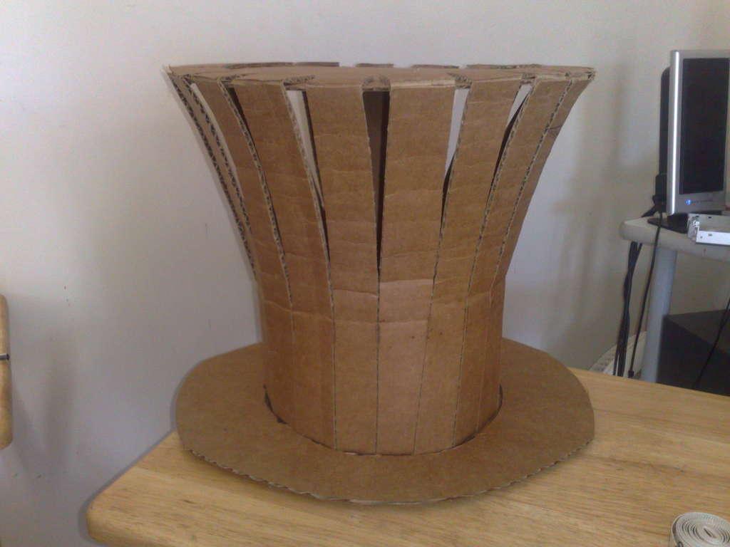Сделать шляпу шляпника своими руками