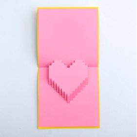валентинка 3D